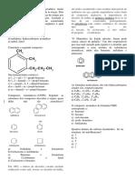 Hidrocarbonetos Aromaticos Questoes Ludicas