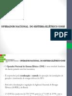 Estrutura Do Setor Elétrico - OnS