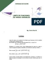 Limite de Funciones de Varias Variables