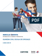 Guía Ibercaja sobre Guardia Civil Escala de Oficiales