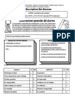 Fichas Descriptivas Por Alumno Primero GRADO PROFESOR ROBERTO.