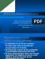 02_Segunda Clase Características Del Texto Administrativo