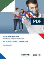Guía Ibercaja sobre la Escala de Oficiales Medicina de las Fuerzas Armadas