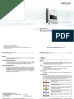 Sofarsolar Manual Sofar1100tl-3000tl