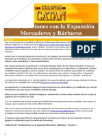 Combinaciones Español Mercaderes y Barbaros v1.1