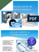 Esterilizacion de Un Dispositivo Medico»