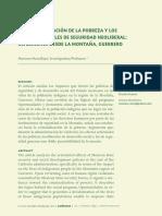 Mora Bayo, Mariana. 2014. La Criminalización de La Pobreza y Sus Efectos