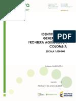 Identificacion General de La Frontera