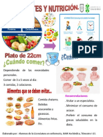 Cartel Diabetes Nutri