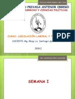 Legislación Laboral y Tributaria - Semana 1