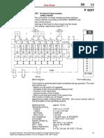 Attch-1E Digital Input Module F3237-e