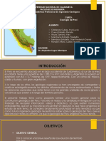 Faja Andina, Subandina e Importancia Geológica Listo