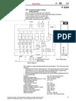 Attch-1G Digital Output Module F3334-e
