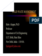Soild Waste Management Alappat