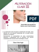 Alteracion Clase III