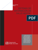 Conjunto de Guías Sobre Servicios y Políticas de Salud Mental