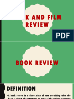 Book and Film Review