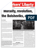 Morality, revolution, the Bolsheviks, and us