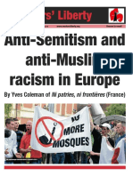 Anti-semitism and anti-Muslim racism in Europe