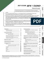 Manual en PDF del RV500