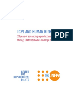 Icpd and Human Rights 20 Years