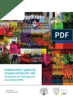 Mineduc Instructivo Participación Estudiantil 2019