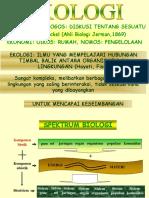 Ekologi Dasar Ipl