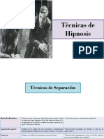 Técnicas de Hipnosis