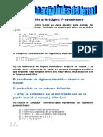 Logica Matematica  tarea 1