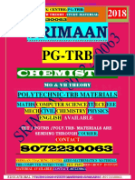 Pgtrb Chemistry Unit 1 Study Materials English Medium
