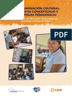 La Discriminacion Cultural Referentes Conceptuales y Estrategias Pedagogicas1