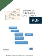 Sistema de Tuberias Clase II