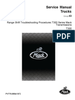 Range Shift Troubleshooting Procedures T300 Series Mack