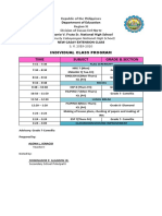 Individual Teaching Load-Alona & CLASS SCHEDULE 2019