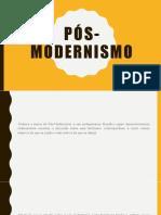 Pós-Modernismo