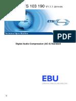 TS 103 190 - V1.1.1 - Digital Audio Compression (AC-4) Standard.pdf