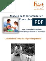 7.1 Disfluencias - Manejo de La Tartamudez en Preescolares