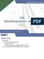 SQL - Data Manipulation Advanced