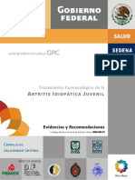 ARTRITIS IDIOPATICAJUVENIL GPC