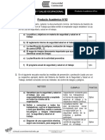 PA2- Seguridad y Salud Ocupacional