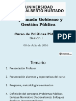 Diplomado Gobierno y Gestion Publica Sesion 1 Vf