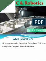 NC, CNC and Robotics