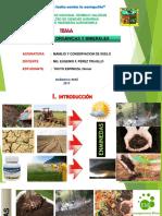 Enmiendas Organicas y Minerales