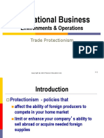 6 & 7. Trade Protectionism