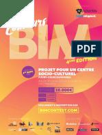 Programme Concours - BIM 2019
