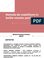 Curs III Metode de Reabilitare in Bolile Venelor Periferice