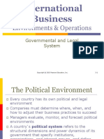 3. Governmental & Legal System