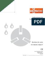 Busch Instruction Manual KB KC 0025 F Es 0870142967