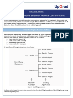 Lecture Notes - Model Selection Practical Considerations.pdf