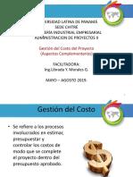 Tema 1 Gestion de Costos Del Proyecto - 13-05-19